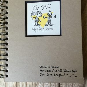 Kid Stuff: My First Journal Large Kraft Journal