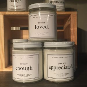 Compliment Candle- You are Appreciated