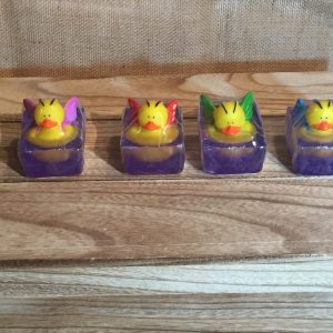 Duck Soaps-Purple Butterfly