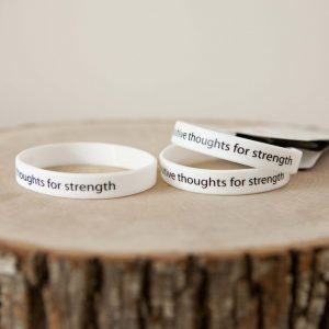 """For Strength"" bracelet pair"